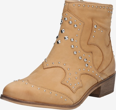 ABOUT YOU Bottines 'Elisabeth' en camel, Vue avec produit