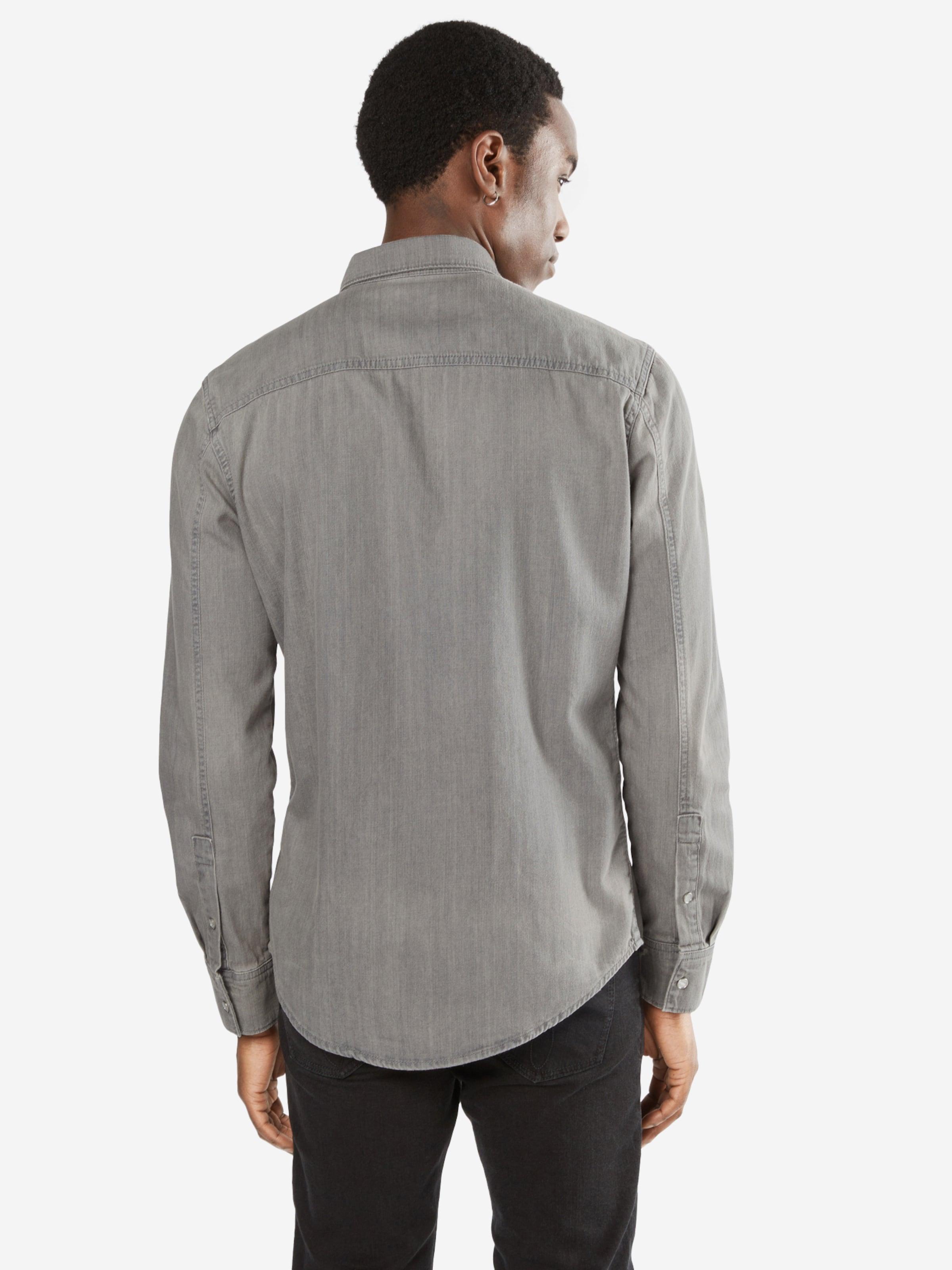 Freies Verschiffen Besuch Calvin Klein Jeans Hemd 'GREY ZONE' Spielraum Marktfähig Ska996