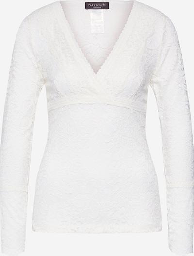 rosemunde T-shirt en ivoire, Vue avec produit