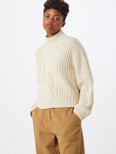 Stella Nova Sweter 'Kira' w kolorze kremowym, Podgląd na modelu(-ce)