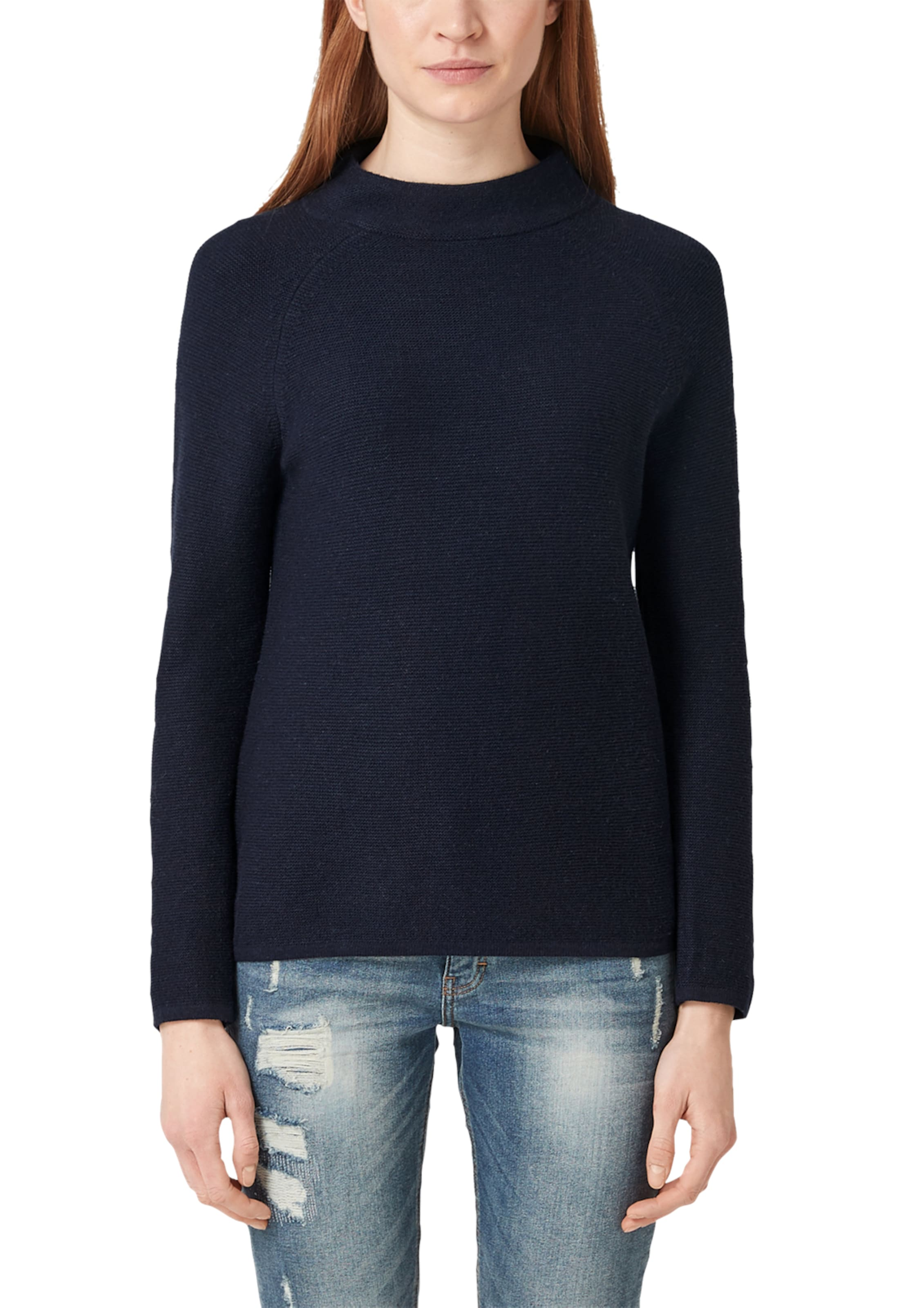 In S oliver S oliver Pullover Nachtblau pSUMVz