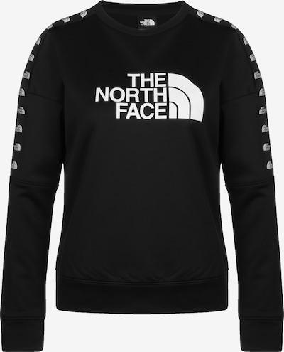 THE NORTH FACE Sweatshirt 'Train N' in schwarz / weiß, Produktansicht