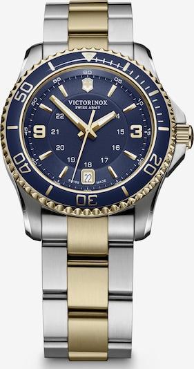 VICTORINOX Analoog horloge 'Maverick' in de kleur Saffier / Goud / Zilver, Productweergave