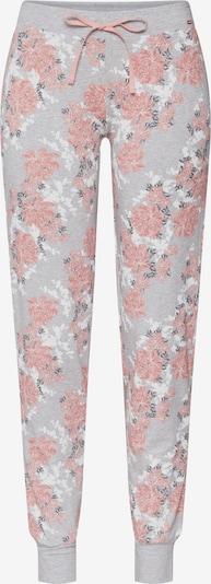 Skiny Pidžamas bikses pieejami jauktu krāsu / rožkrāsas, Preces skats