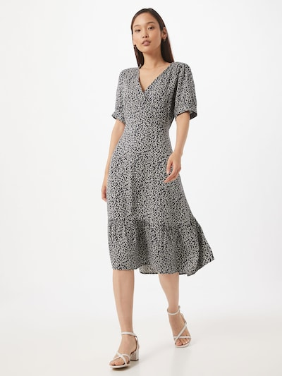 MOSS COPENHAGEN Letné šaty 'Lauralee Raye' - kobaltovomodrá / biela, Model/-ka