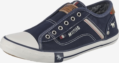 MUSTANG Low shoe in Navy / White, Item view