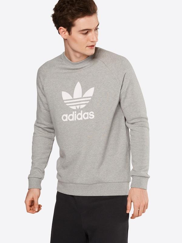 ADIDAS ORIGINALS Sweatshirt 'TREFOIL WARM-UP CREW'