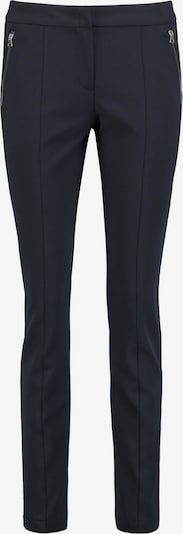 TAIFUN Hose in nachtblau / grasgrün, Produktansicht