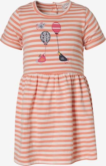 Sense Organics Kleid 'Aurora' in apricot / weiß, Produktansicht