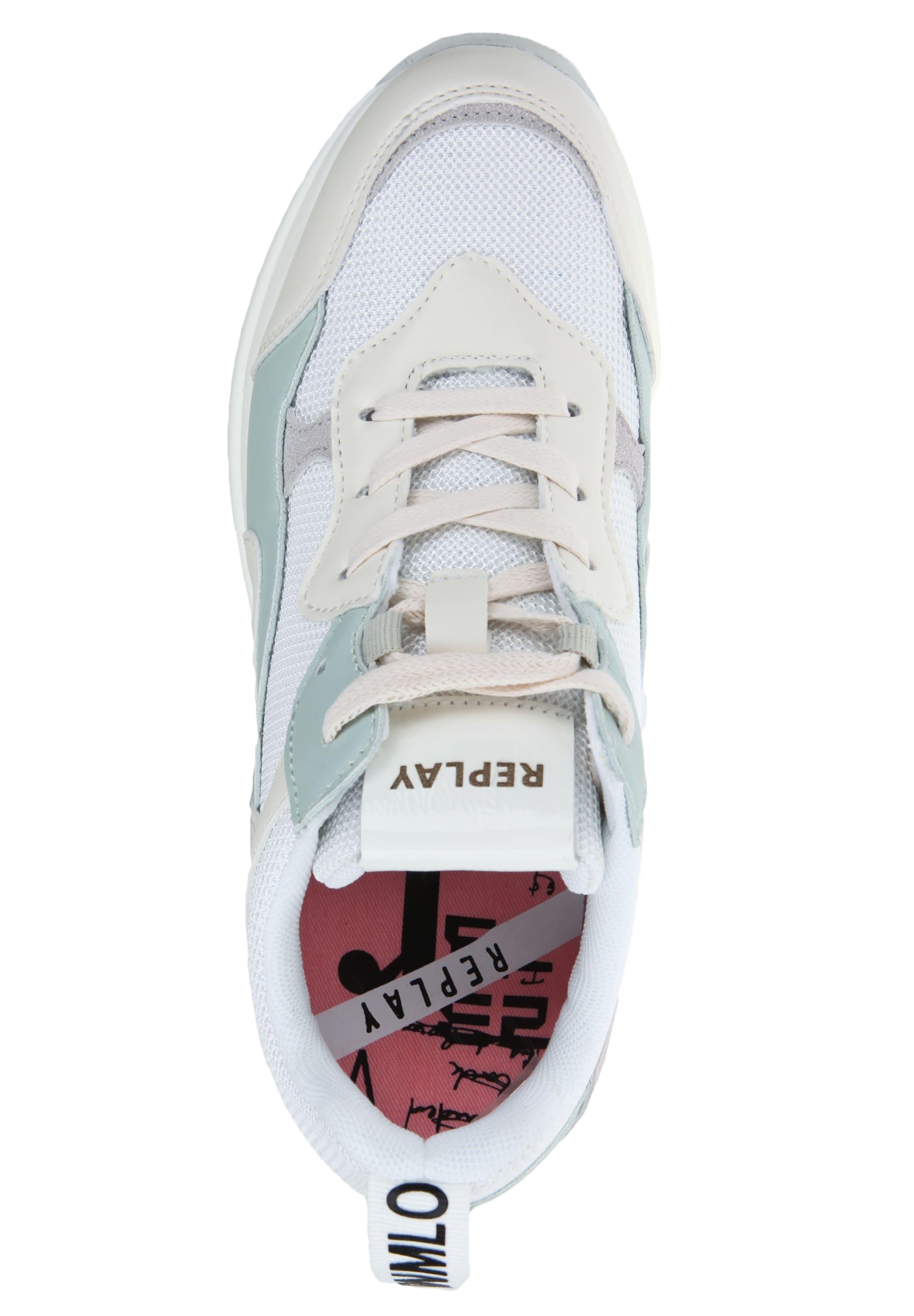 Replay Sneaker HellblauGrau 'theme' In Weiß 5jA3RL4