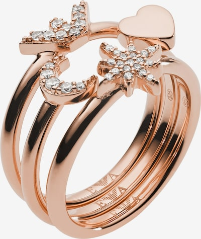 Emporio Armani Ring in rosegold, Produktansicht