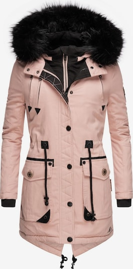 MARIKOO Wintermantel ' Knutschkugel ' in rosa, Produktansicht