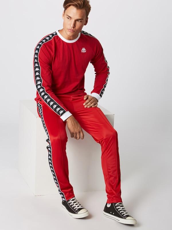 RougeNoir Pantalon De En Kappa Sport 'fairfax' F3uK1TJlc