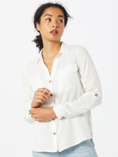 VERO MODA Blouse 'Bumpy' in natural white, View model