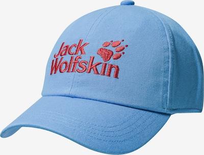 JACK WOLFSKIN Cap 'Baseball' in royalblau / rot, Produktansicht