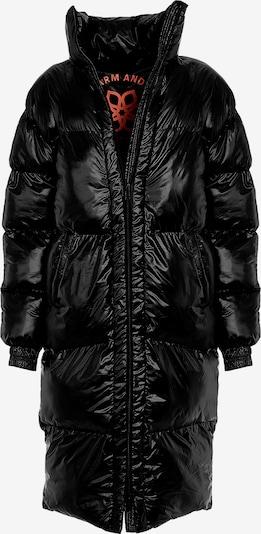 Divine Flower Sportjas 'Sonja' in de kleur Zwart, Productweergave