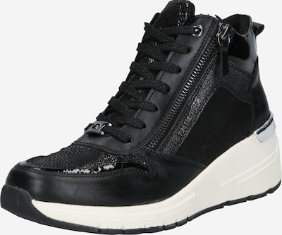 TOM TAILOR Sneaker 'Wedges' in schwarz, Produktansicht