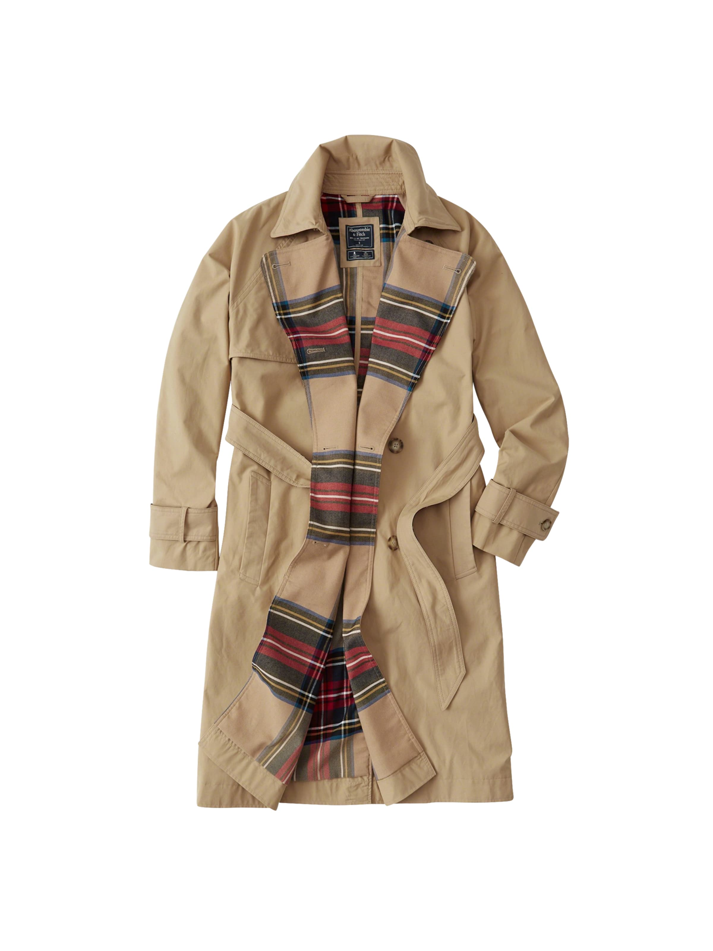 winter 'xm18 Trench' Abercrombieamp; Fitch In Mantel Braun P8nO0wkX