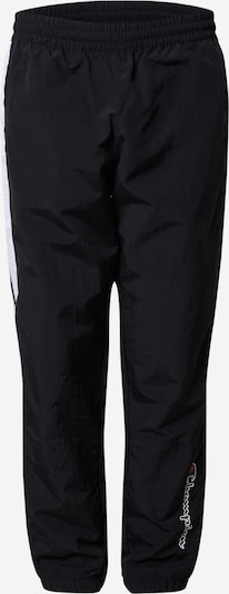 Champion Authentic Athletic Apparel Pantalón deportivo en negro / blanco, Vista del producto