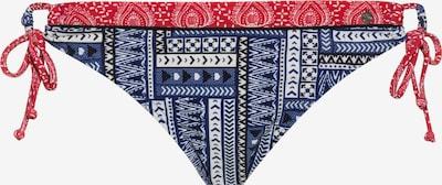s.Oliver Bas de bikini en bleu / rouge / blanc, Vue avec produit