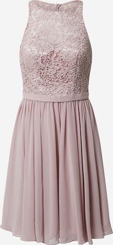 mascara Cocktail Dress in Pink