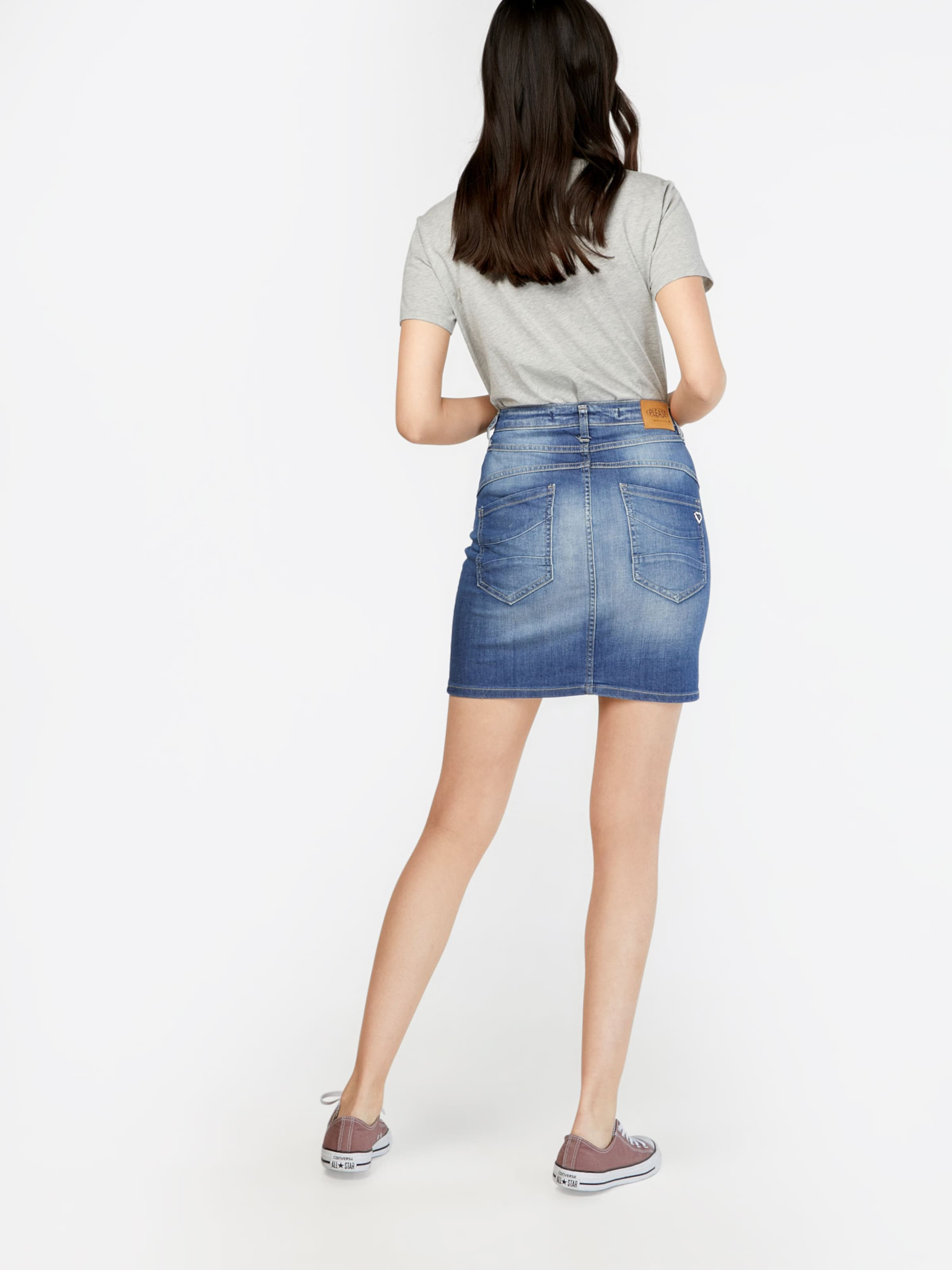 Rock In Please Blue 'skirt' Denim xCoWeQrdBE