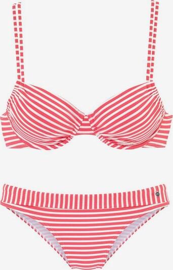 s.Oliver Bikini en rouge clair / blanc, Vue avec produit