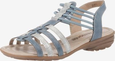 REMONTE Sandale in rauchblau / silber, Produktansicht