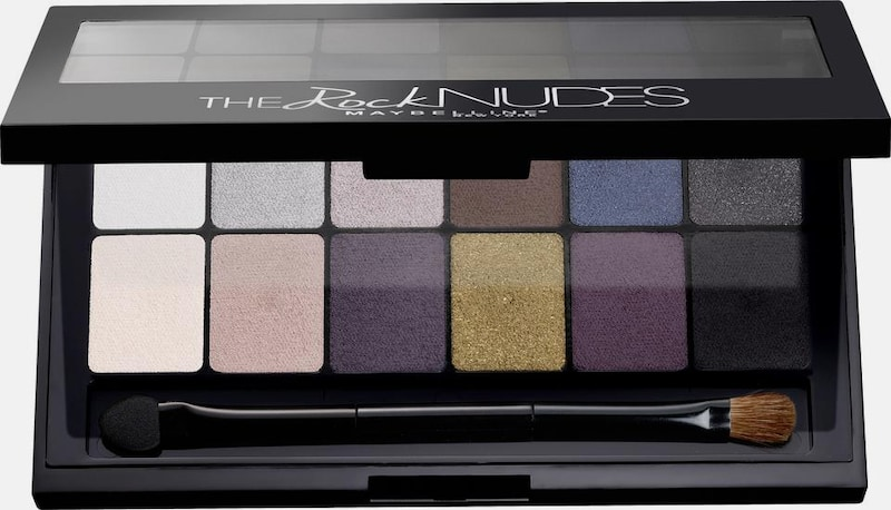 MAYBELLINE New York 'The Rock Nudes Palette', Lidschatten