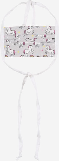 Mr. Little Fox Masque en tissu 'unicorns and rainbows' en gris, Vue avec produit