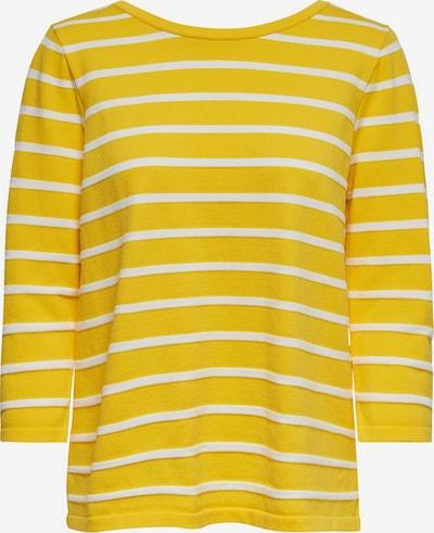 ONLY Pullover in senf / naturweiß, Produktansicht