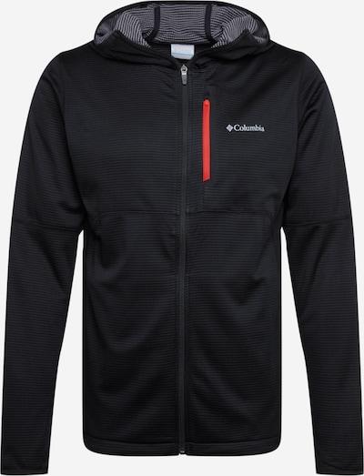 COLUMBIA Sportsweatvest 'Tech Trail™' in de kleur Zwart, Productweergave
