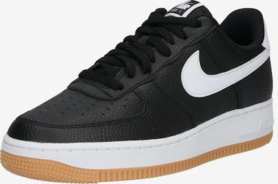 fekete / fehér Nike Sportswear Rövid szárú edzőcipők 'Aair Force 1 '07 2FA19', Termék nézet