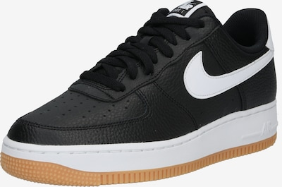 Nike Sportswear Madalad ketsid 'Aair Force 1 '07 2FA19' must / valge, Tootevaade