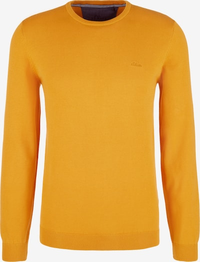 s.Oliver Pullover in gelb: Frontalansicht