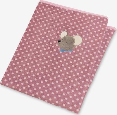STERNTALER Plüschdecke 'Mabel' in beige / taupe / pitaya / hellpink, Produktansicht