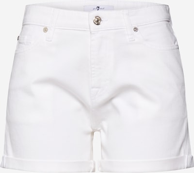7 for all mankind Jean 'BOY' en blanc denim, Vue avec produit