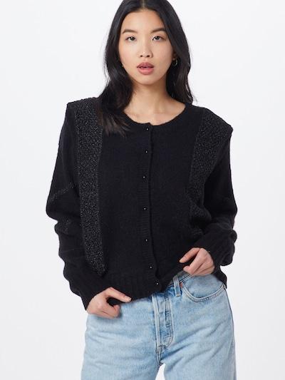 Pepe Jeans Strickjacken 'Pauline' in schwarz, Modelansicht
