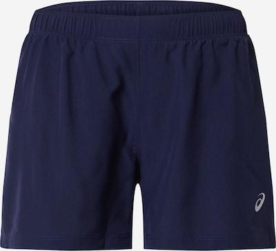 ASICS Pantalon de sport 'SILVER 4IN SHORT' en bleu marine, Vue avec produit