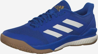 ADIDAS PERFORMANCE Laufschuh in blau / weiß: Frontalansicht