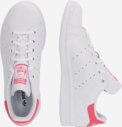 ADIDAS ORIGINALS Sneaker 'STAN SMITH J' in pink / weiß: Seitenansicht