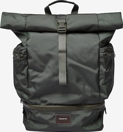 SANDQVIST Rucksack 'Verner' in dunkelgrün, Produktansicht