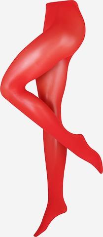 FALKE Nylonstrumpbyxa 'Pure' i röd