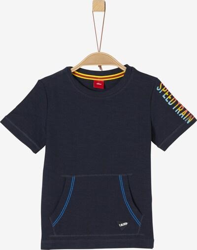 s.Oliver Junior Shirt in nachtblau, Produktansicht