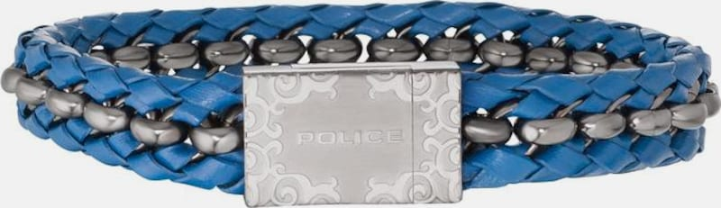 POLICE Armband 'ORLANDO, PJ26053BLU.02-L'