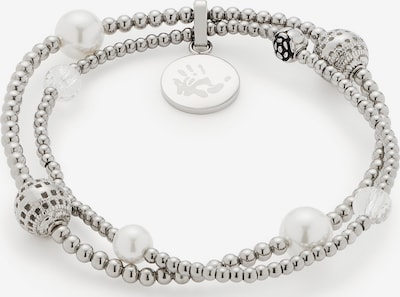 LEONARDO Armband in weiß, Produktansicht