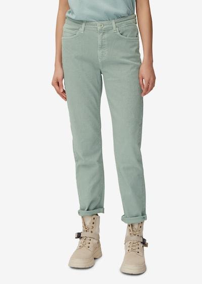Marc O'Polo Pantalon 'Linde' en menthe, Vue avec modèle
