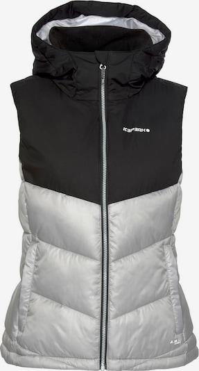ICEPEAK Steppweste 'BAY' in schwarz, Produktansicht