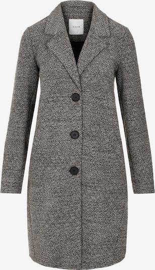 PIECES Mantel in grau / schwarz, Produktansicht