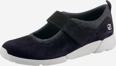 GABOR Riemchenballerina in dunkelblau / grau, Produktansicht